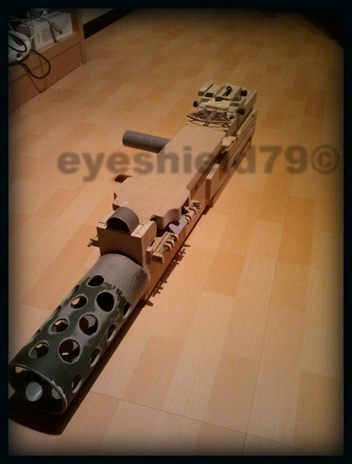 airsoft M2HB 12.7 browning 50. avec canon mobile  2012-101