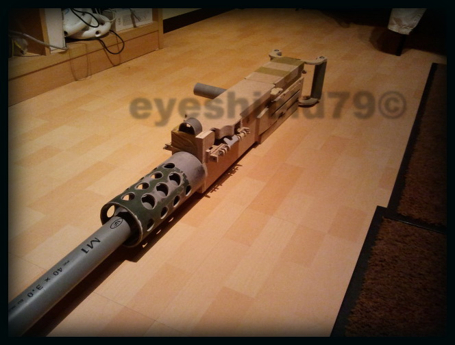 airsoft M2HB 12.7 browning 50. avec canon mobile  2012-103