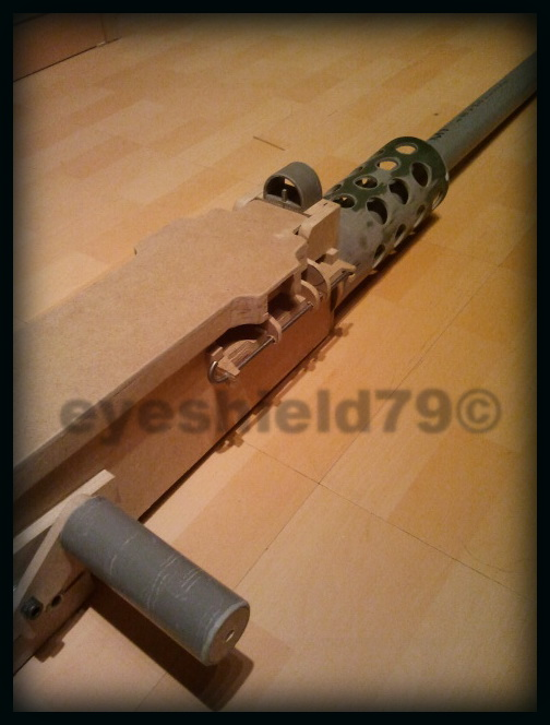 airsoft M2HB 12.7 browning 50. avec canon mobile  2012-105