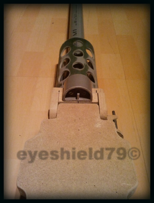 airsoft M2HB 12.7 browning 50. avec canon mobile  2012-107
