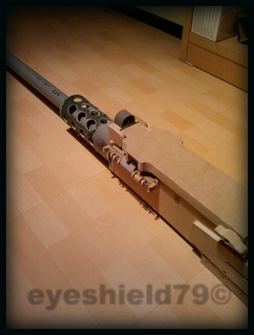airsoft M2HB 12.7 browning 50. avec canon mobile  2012-110