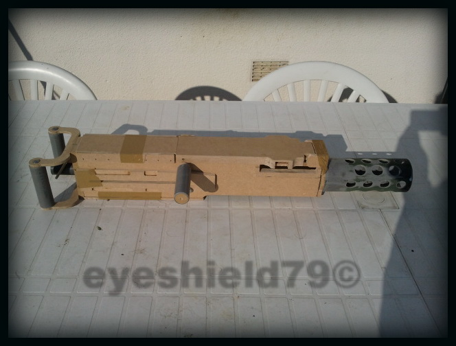 airsoft M2HB 12.7 browning 50. avec canon mobile  2012-113