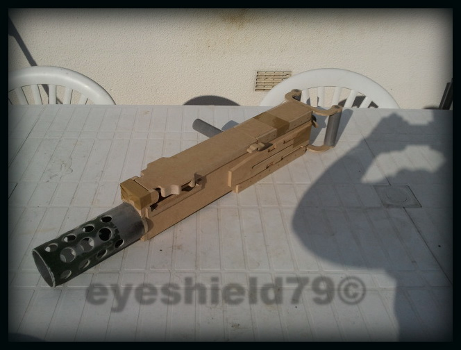 airsoft M2HB 12.7 browning 50. avec canon mobile  2012-114