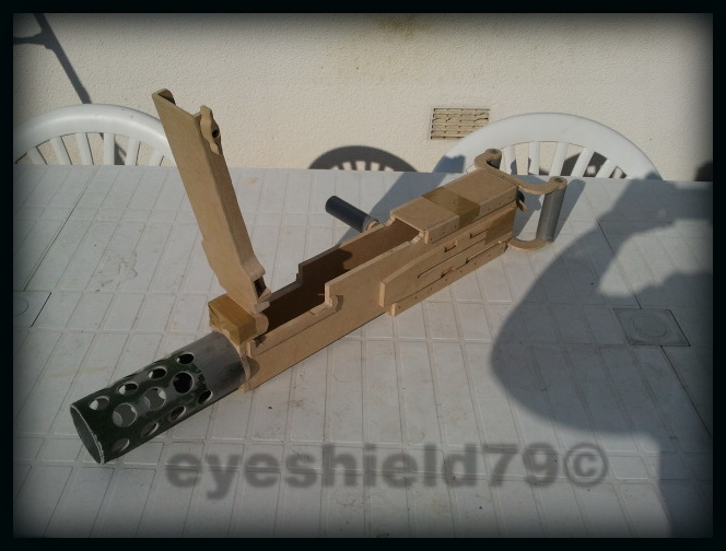 airsoft M2HB 12.7 browning 50. avec canon mobile  2012-115