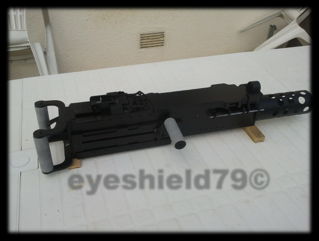 airsoft M2HB 12.7 browning 50. avec canon mobile  2012-120