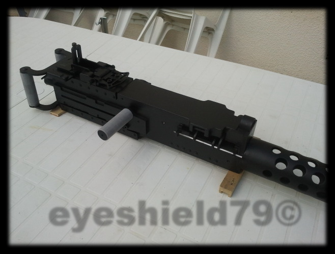 airsoft M2HB 12.7 browning 50. avec canon mobile  2012-121