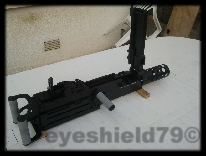 airsoft M2HB 12.7 browning 50. avec canon mobile  2012-122