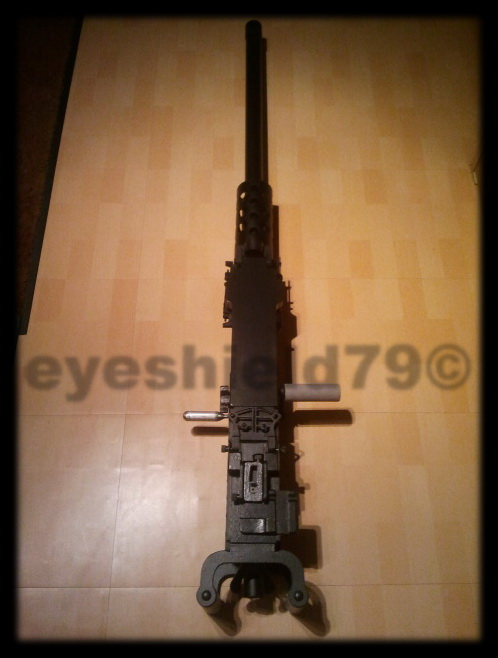 airsoft M2HB 12.7 browning 50. avec canon mobile  2012-124