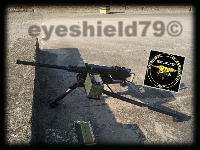 airsoft M2HB 12.7 browning 50. avec canon mobile  2012-178
