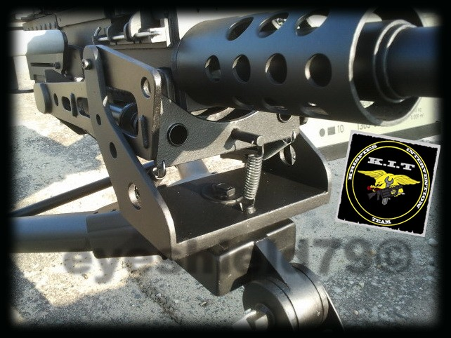 airsoft M2HB 12.7 browning 50. avec canon mobile  2012-181