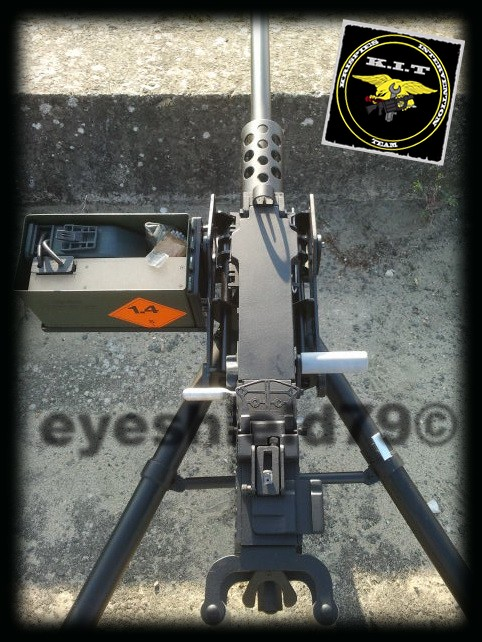 airsoft M2HB 12.7 browning 50. avec canon mobile  2012-182