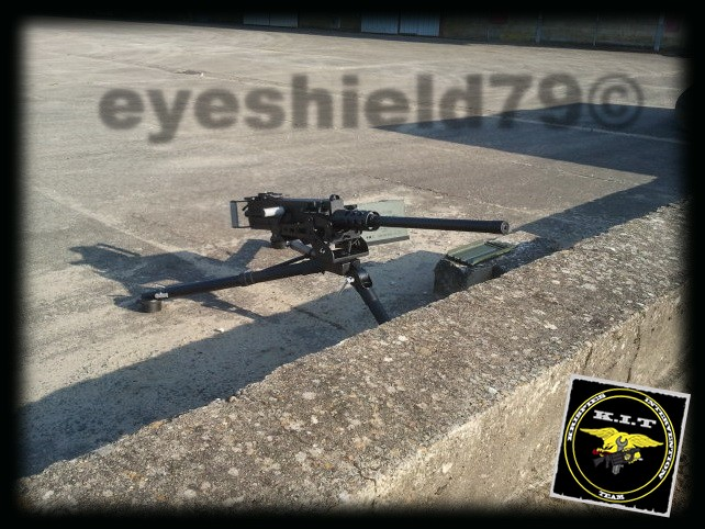 airsoft M2HB 12.7 browning 50. avec canon mobile  2012-183