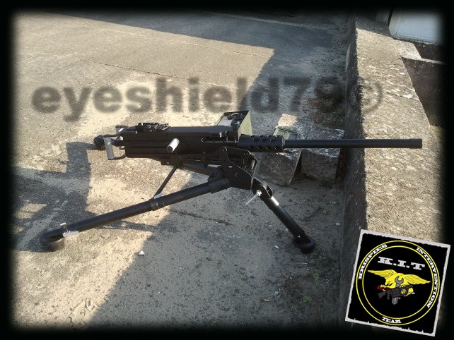 airsoft M2HB 12.7 browning 50. avec canon mobile  2012-184