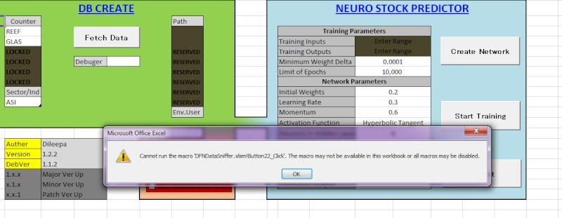 DFN Data Sniffer Error10