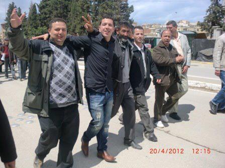 Marche du 20 avril 2012 à VGAYET ( BEJAIA ) 1282