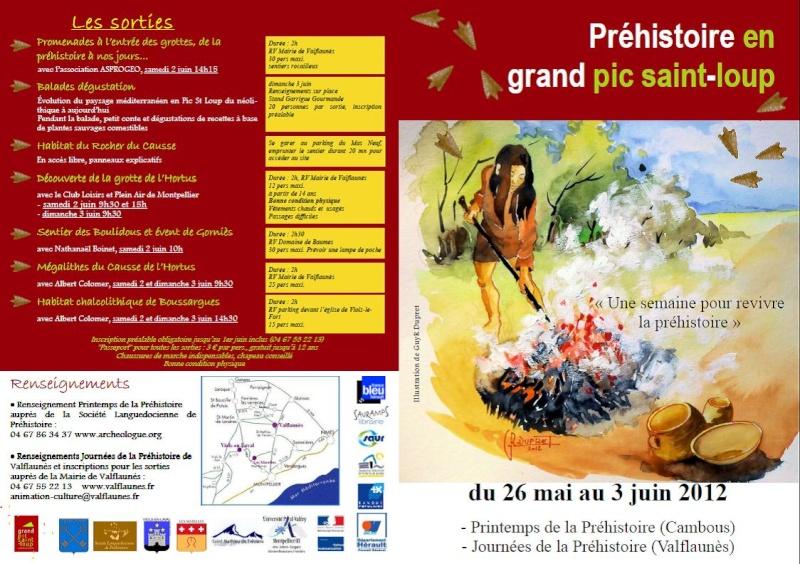 Printemps & Journée de la préhistoire du 26mai au 3 juin à Cambous et Valflaunès Valfla10