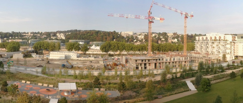 Construction de Baie sur Parc en 2011 Panora14