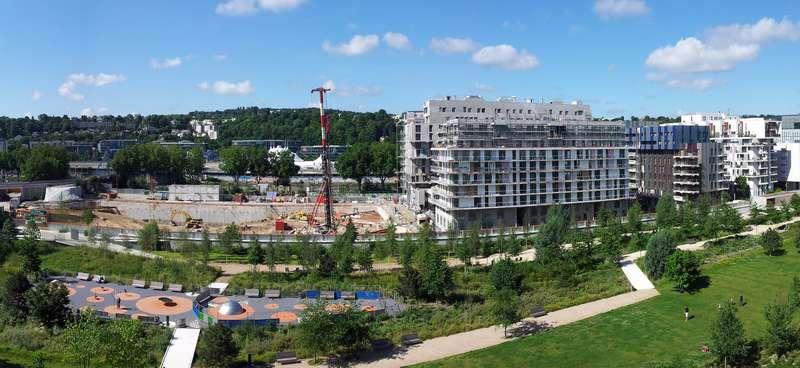 Construction de Baie sur Parc en 2011 Panora25