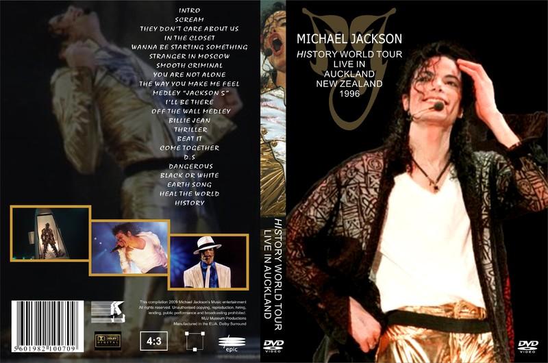 [DL] Michael Jackson HIStory Tour Auckland NewZealand 1996 AVI  Orange Histor38