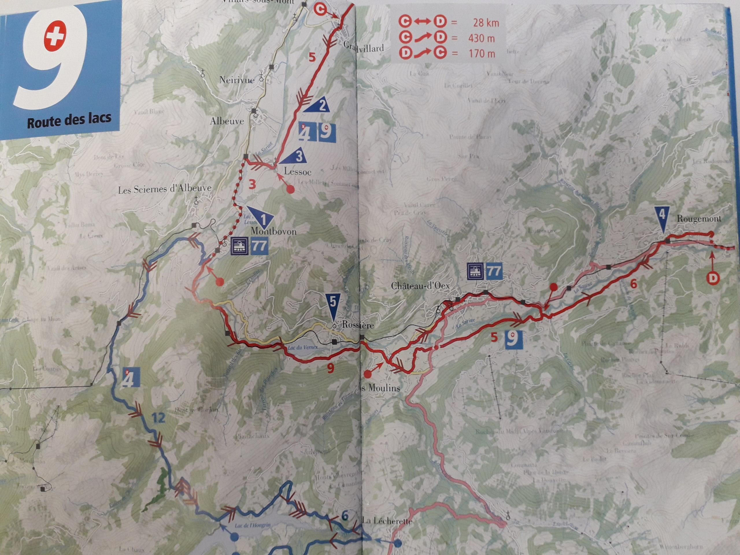 La Route des lacs - Suisse [7 au 12 juin] saison 14 •Bƒ 20190513