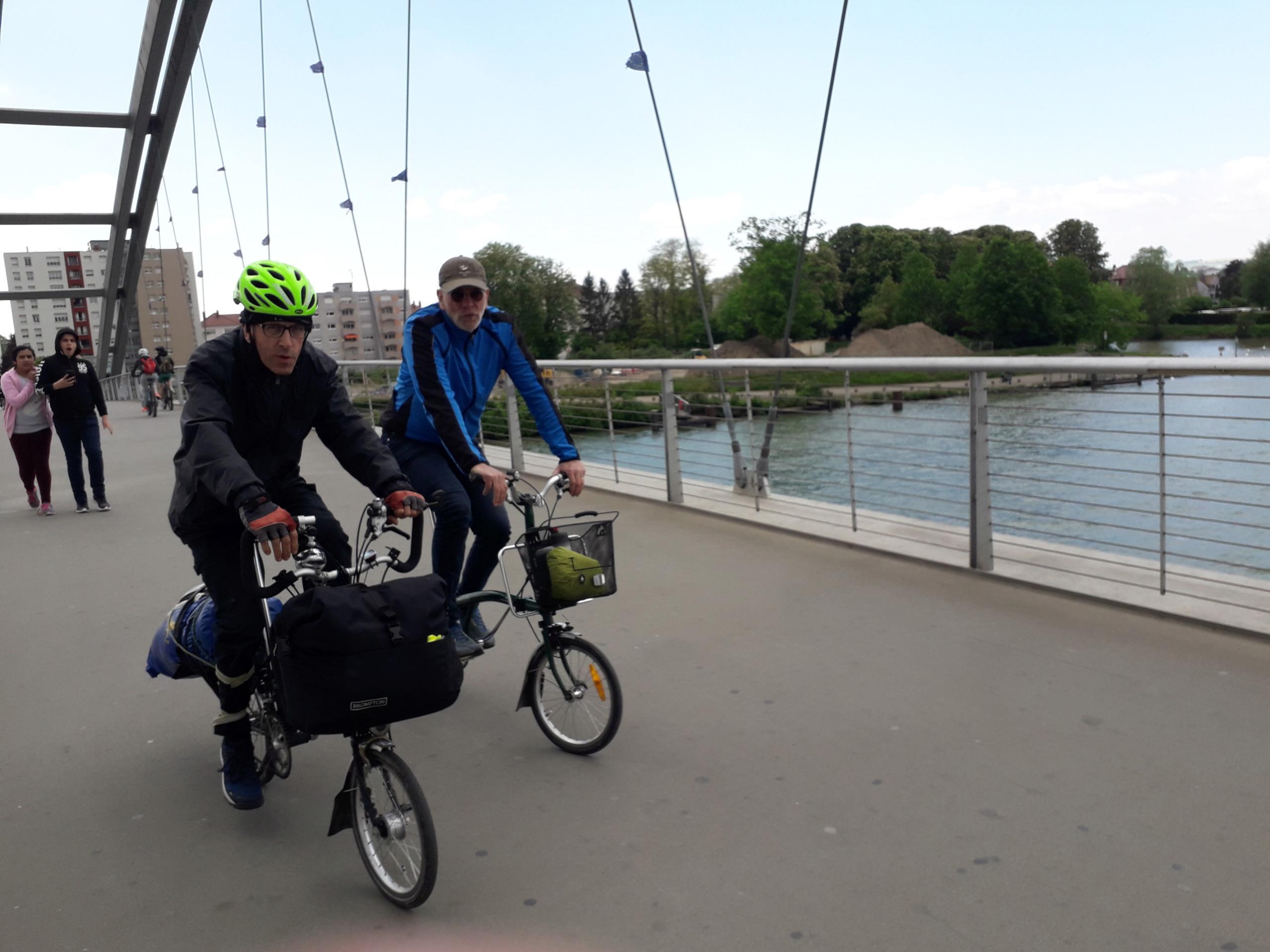 Mulhouse - Budapest sur l'EuroVélo 6 [12 mai au 3 juin 2019] saison 14 •Bƒ   20190556
