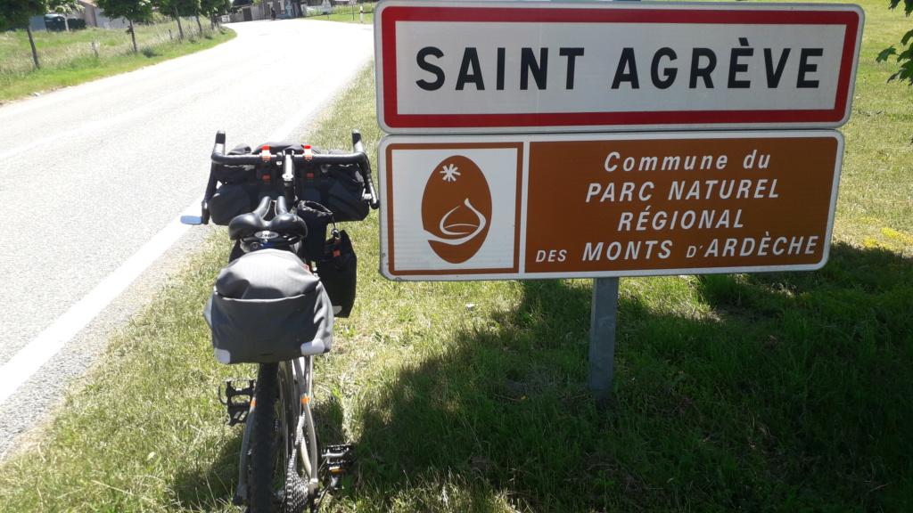 """Vélo buissonnier """"De la Bourgogne à la Drôme provençale"""" (10 au 16 juin 2021) 20210616"""