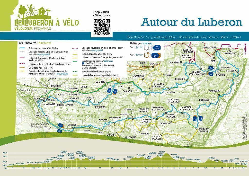 Tour du Luberon + Escapade dans le Verdon [24 avril au 2 mai 2019] saison 14 •Bƒ Carte10