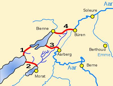 Tour des 3 Lacs et du Canal de l'Aar - Suisse (20 au 23 août 2021) Correc13