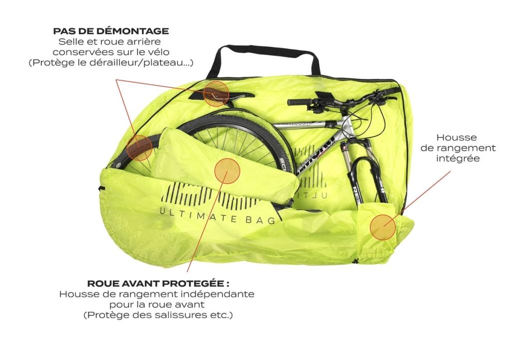 Housse de transport pour vélo à grande roue Housse11