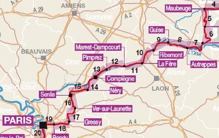 (REPORTE) Paris - Maubeuge en Brompton Iti-to10
