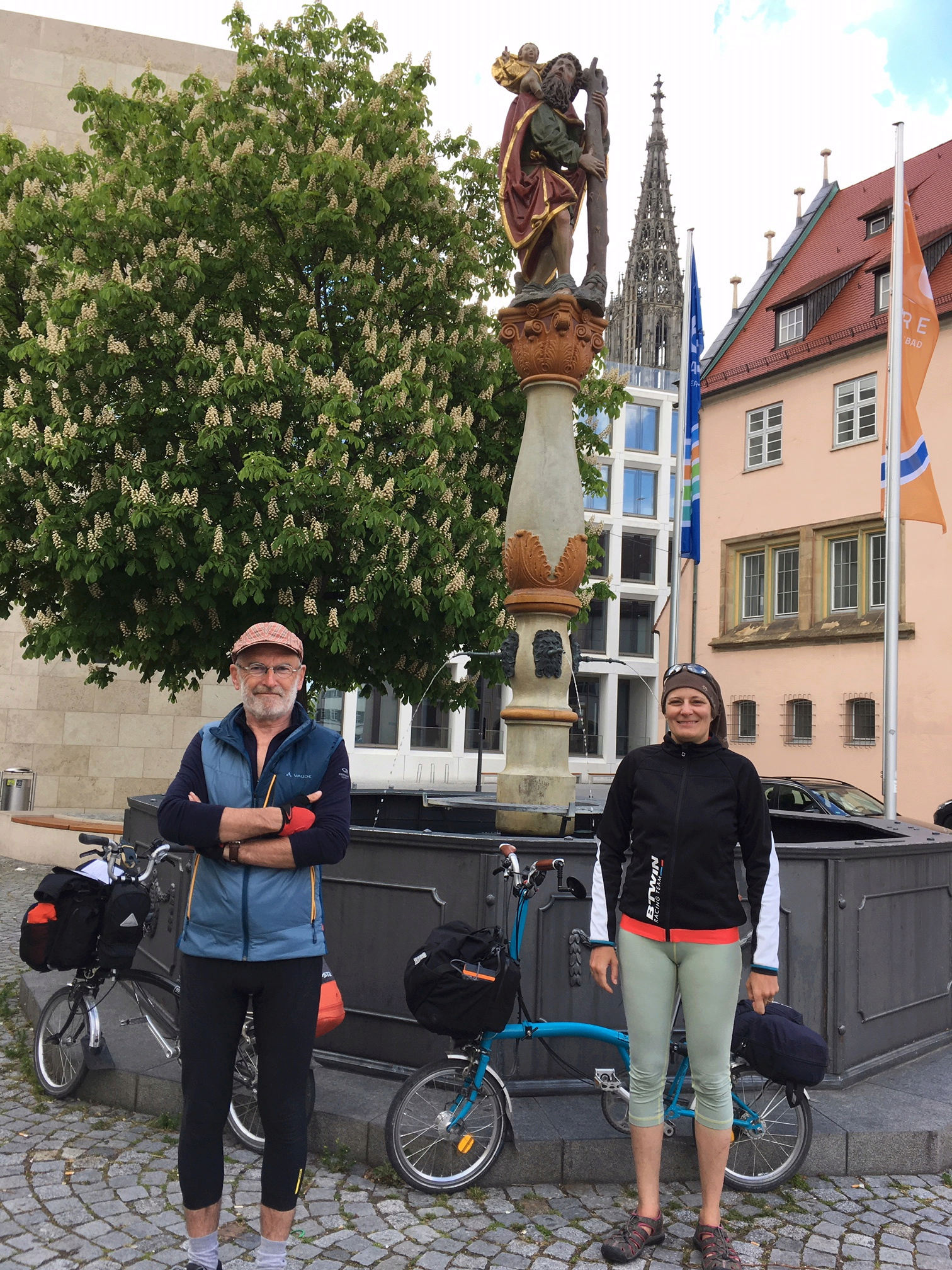 Mulhouse - Budapest sur l'EuroVélo 6 [12 mai au 3 juin 2019] saison 14 •Bƒ   Sans-t11