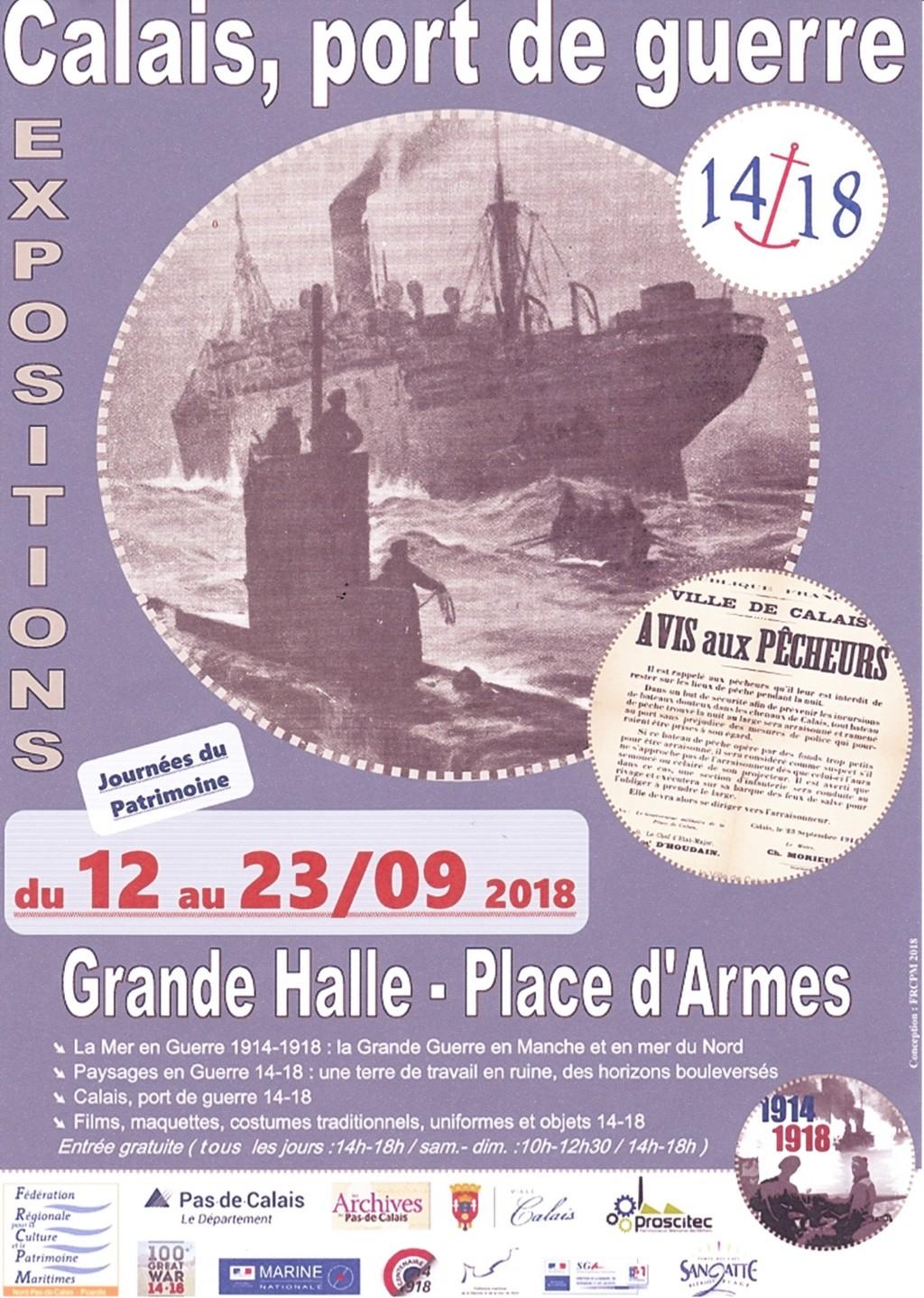 Calais port de guerre 14/18 du 12 au 23 sept 2018 Calais12