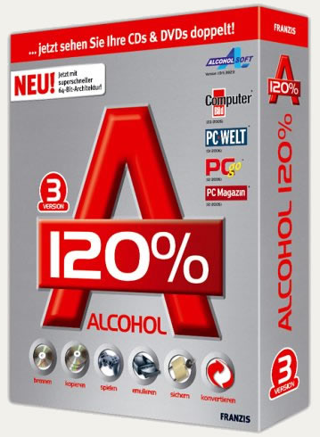 Alcohol 120% Retail v2.0.2.3931 Full Español + Keymaker + AxAudioConPlugin 1.0.0.125 Alcoho10