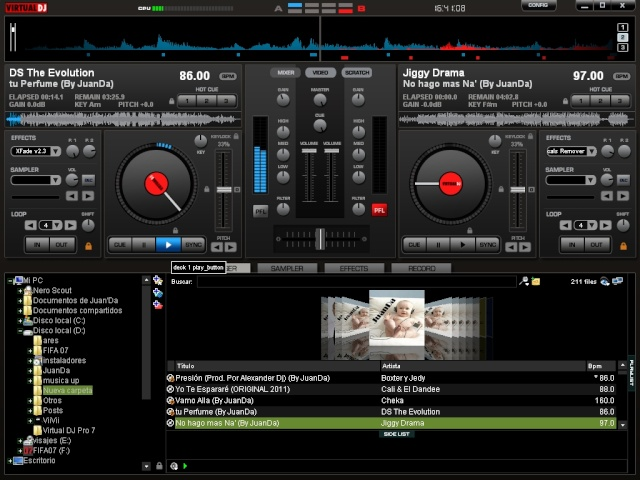 Virtual DJ Pro 7 full / Español + Serial + Crack + Skins + Samples + Efectos + Efectos de video + Links Funcionando Cats16