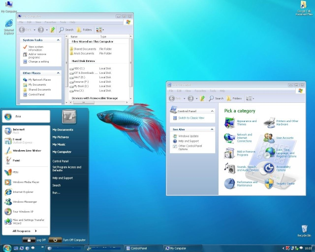 Convierte tu Windows XP en Windows 7 Con Windows Seven Remix Xp 2.2 Win7_110