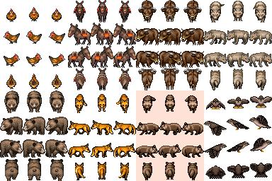 pack de nouvelles ressources VX. Animal11