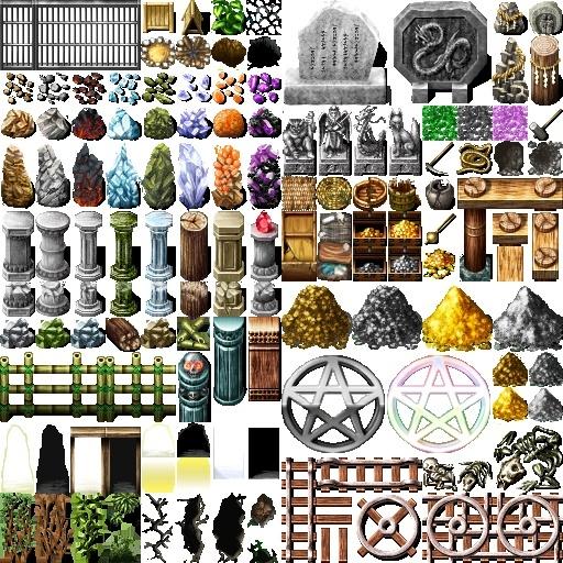 pack de nouvelles ressources VX. Tiled10