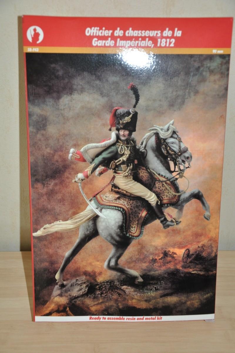 Officier des Chasseurs à cheval de la Garde Impériale- 90 mm Andréa Dsc_0370