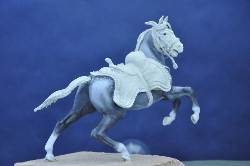 Officier des Chasseurs à cheval de la Garde Impériale- 90 mm Andréa Dsc_0375