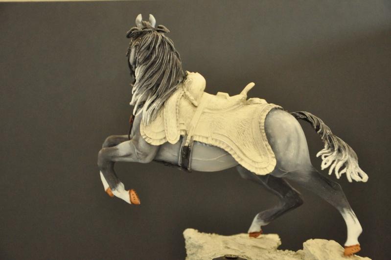 Officier des Chasseurs à cheval de la Garde Impériale- 90 mm Andréa Dsc_0380