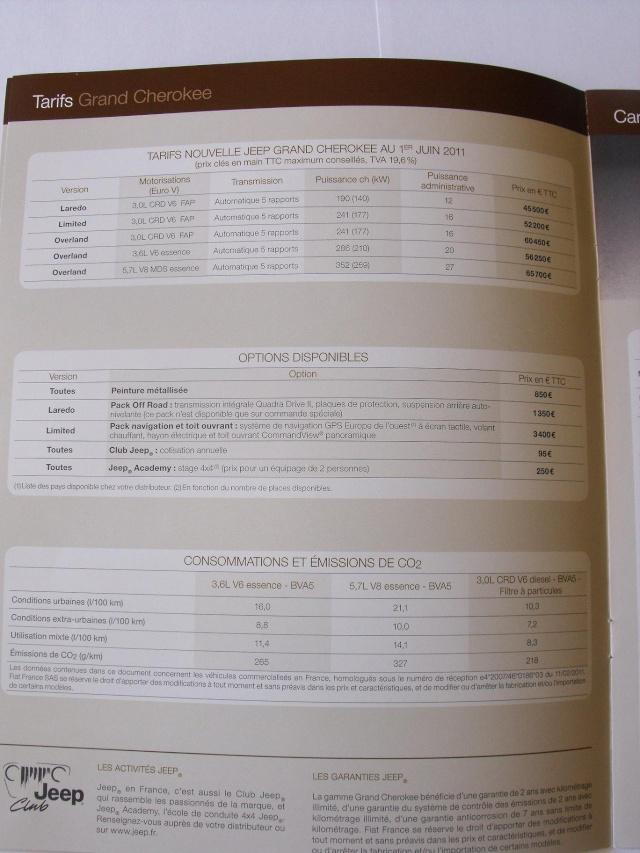 Nouveau Grand Cherokee 3.0 de 2011 - Page 3 Dscf2813
