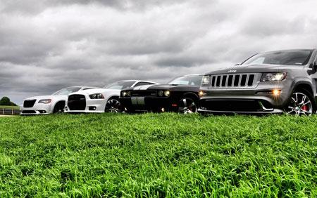 La gamme SRT 2012 du groupe Chrysler Gamme-10