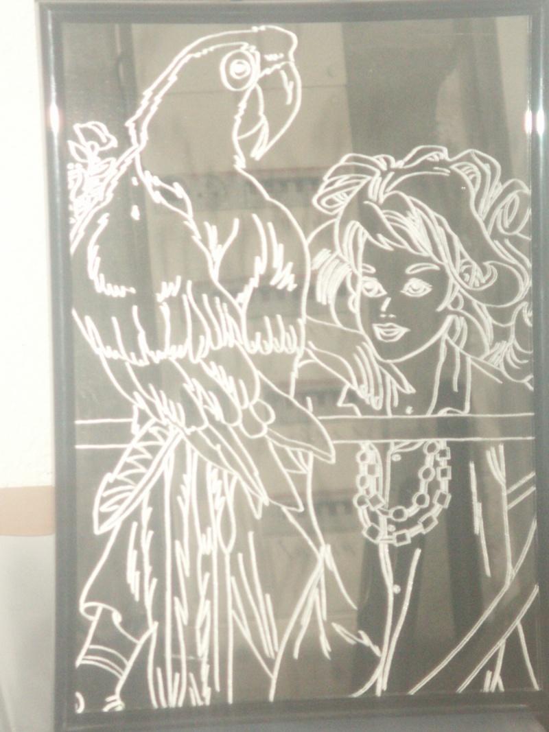 Graver sur un miroir Fille_10