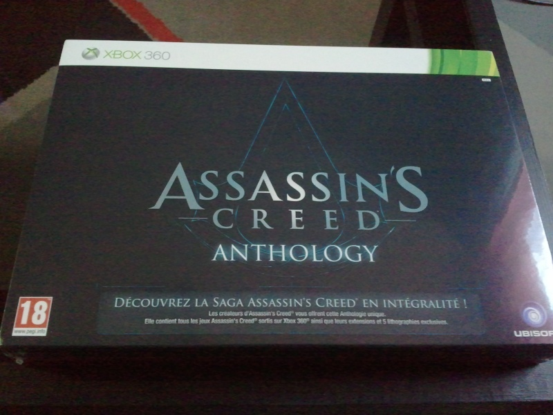 Assassin's Creed Anthology [ X-BOX 360/ PS3] 00631