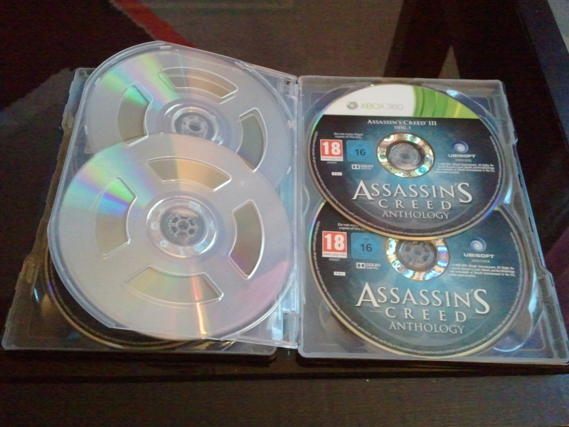 Assassin's Creed Anthology [ X-BOX 360/ PS3] 01615