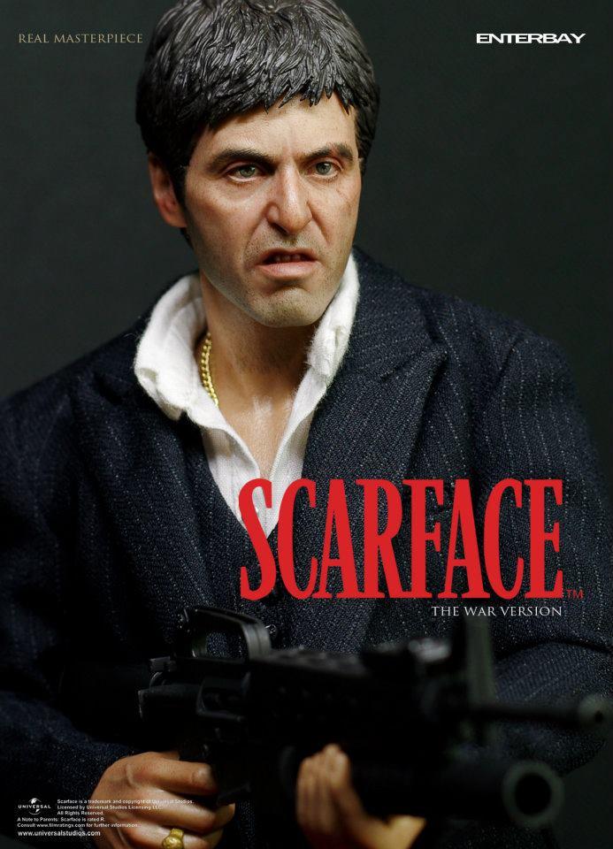 SCARFACE - TONY MONTANA WAR VERSION 31698711