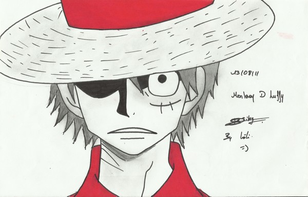 Mes dessins Luffy111