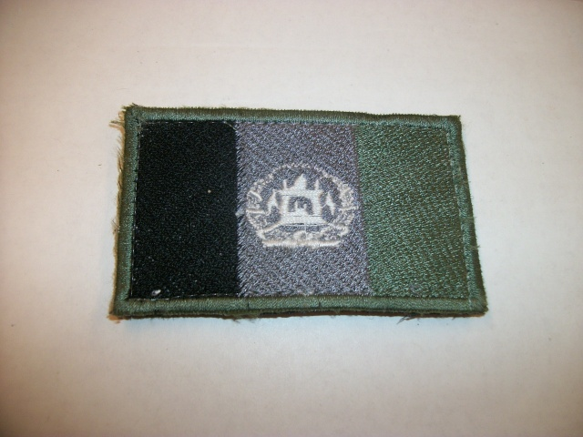 Subdued Afghan Flag Patch 100_5614
