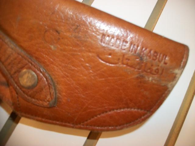 Afghan 9mm leather shoulder holster - Kabul manufacturer - Bring Back 100_8220