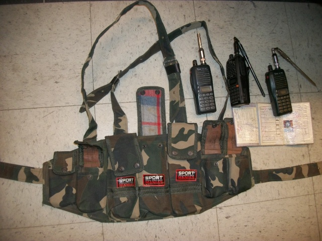 Special Forces Bringback Chest Rack and Extras -Taliban Stuff 100_8814